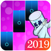 Marshmello : Piano Tiles DJ Icon