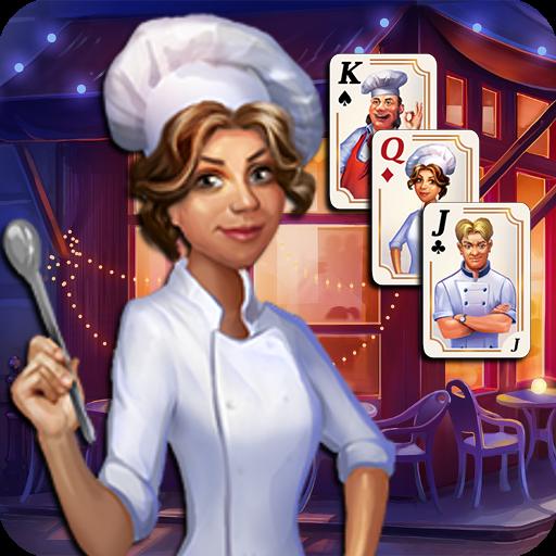 Chef Solitaire: USA TriPeaks