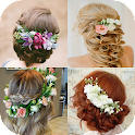 Hairstyles With Flowers icon