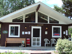 Photo: The Bistro & store at Burton Island State Park by Sara Hayes
