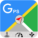 GPS Navigation Maps GPS Location Route finder app icon