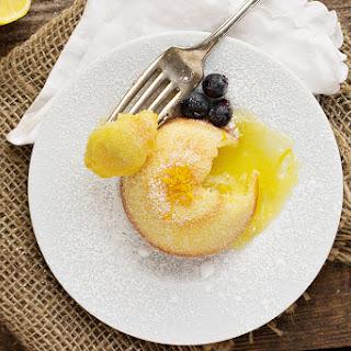 Little Lemon Lava Cakes Recipe