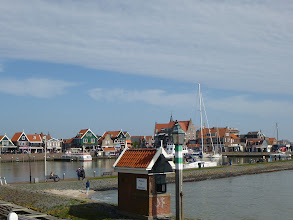 Photo: Approaching Volendam