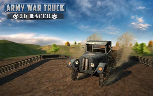 군사 트럭 3D 레이스