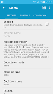 HIIT - interval training timer- screenshot thumbnail