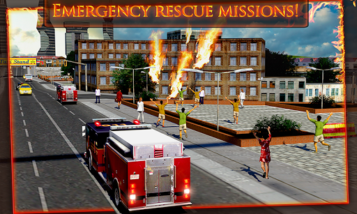 Fire Truck Emergency Rescue 3D 1.2 screenshots hack proof 1