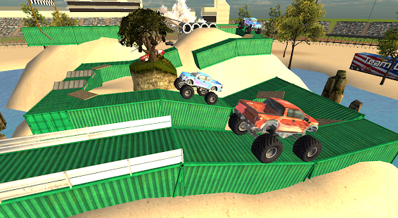 Extreme Monster Truck Stunt Parking Driving School - náhled