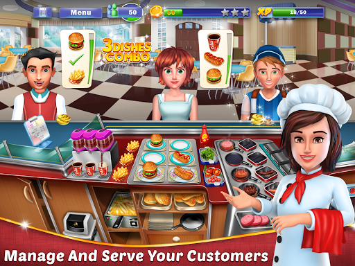 Chef's Life : Crazy Restaurant Kitchen apkmr screenshots 6