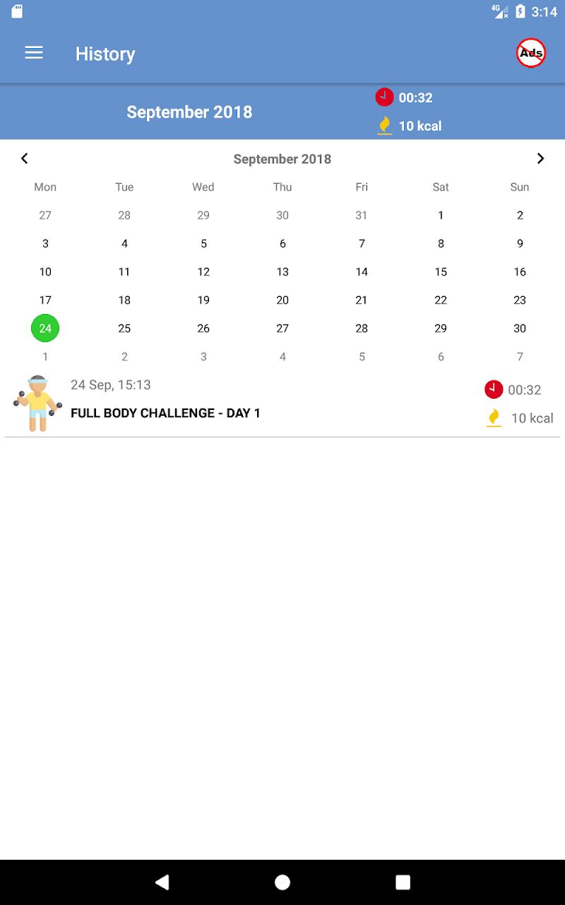 Home Workouts Gym Pro (No ad) Screenshot 18