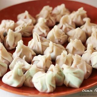 Chinese Pork Dumplings.
