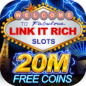 Link It Rich! Hot Vegas Casino Slots FREE icon