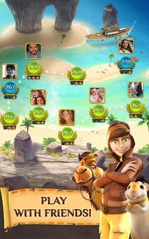 2 Pyramid Solitaire Saga App screenshot
