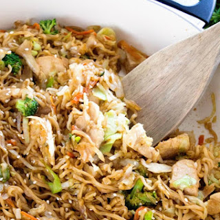 Chicken Ramen Stir-Fry