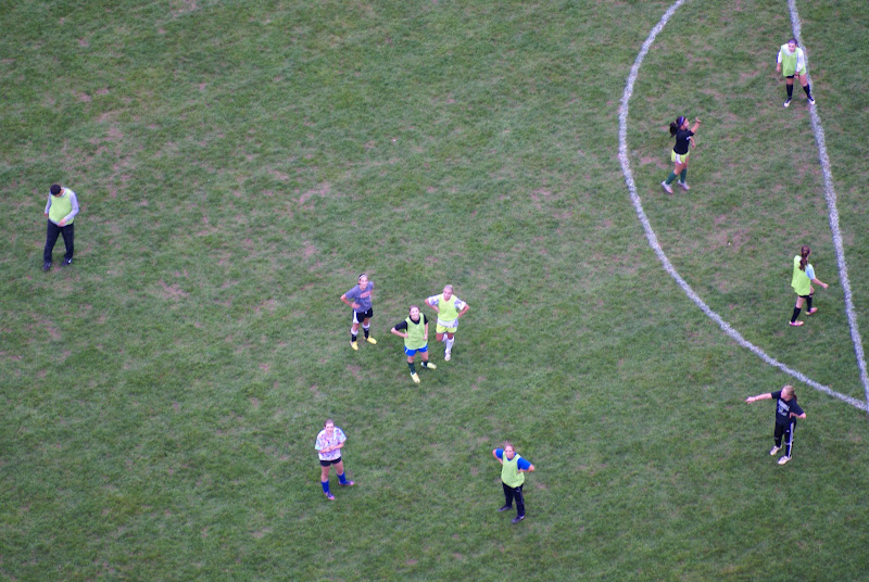 Photo: We interrupted a soccer game