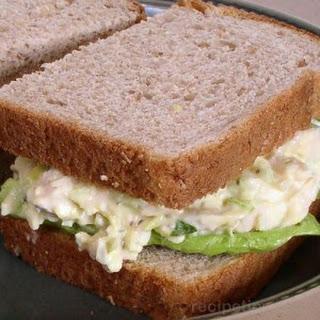 Chicken And Egg Salad Sandwich
