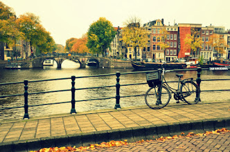 Photo: Autumn in Amsterdam, Netherlands