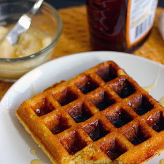 Buttermilk Corn Waffles