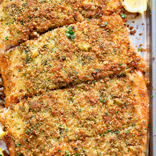 Salmon With Breadcrumb Crust Recipes