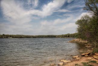 Photo: Watkins Mill Lake