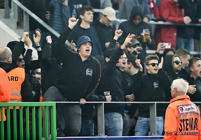 """Zulte Waregem veroordeelt gedrag van enkele fans: """"Haaks op het DNA van de club"""""""