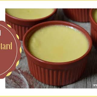 Real Food Vanilla Custard Cups.