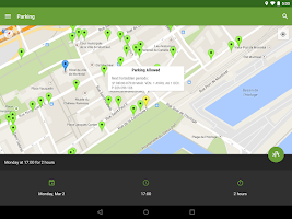 Screenshot of Park Catcher Montreal