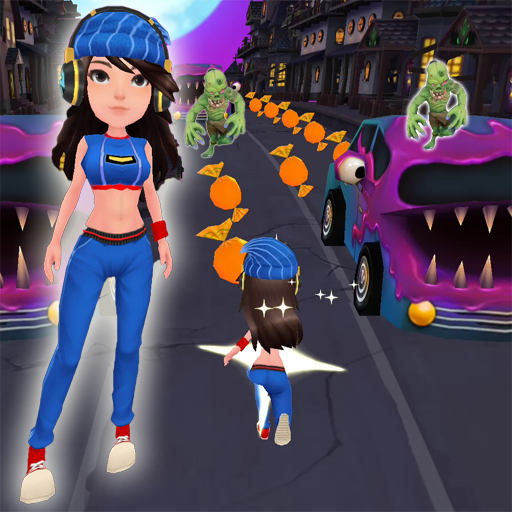 Zombies Princess Surf Run (game)