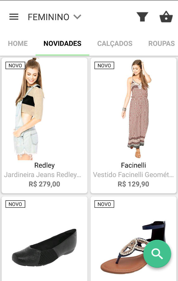 Dafiti - Sua smartfashion: captura de tela