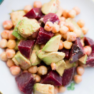 Beet, Avocado and Chickpea Salad