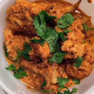 Roasted Cauliflower Tikka Masala [Vegan, Gluten-Free].