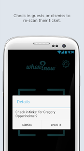WhenNow Ticket Scanner- screenshot thumbnail