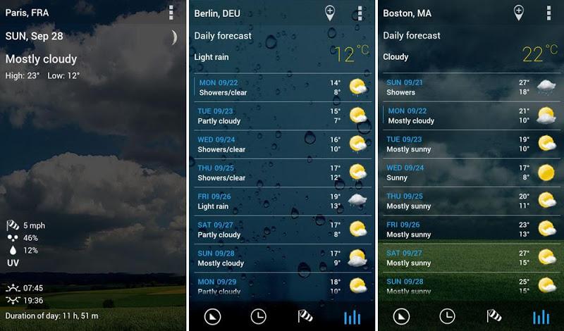 3D Flip Clock & Weather Pro Screenshot 10