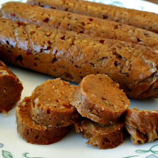 Andouille Seitan Sausage