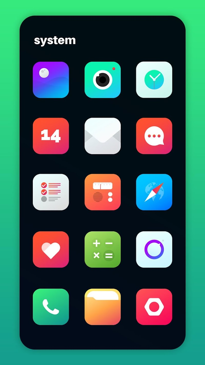 Nova Icon Pack - Rounded Square Icons Screenshot 1