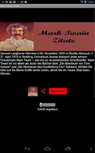 Mark Twain Zitate - Deutsch
