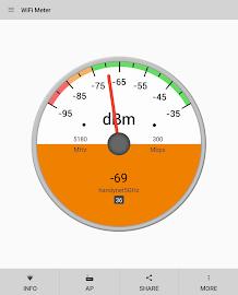 WiFi Signal Strength Screenshot 10