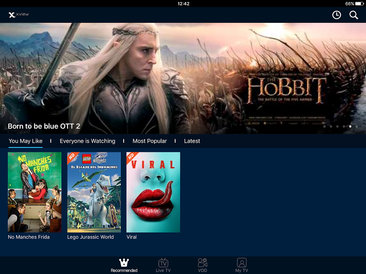 Megacable Xview- screenshot