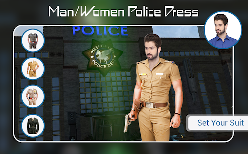 Download Police Photo Suit : Men - Women Police Dress For PC Windows and Mac apk screenshot 2