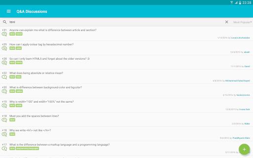 Learn HTML 5.5.2 screenshots 11
