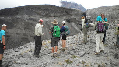 Photo: Geologist, Andy Barsotti in the red cap