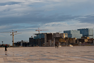 Photo: There is a lot of building going on in Casablanca