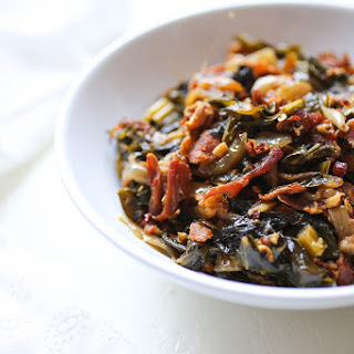 Bacon-Lovers Spicy Southern Greens