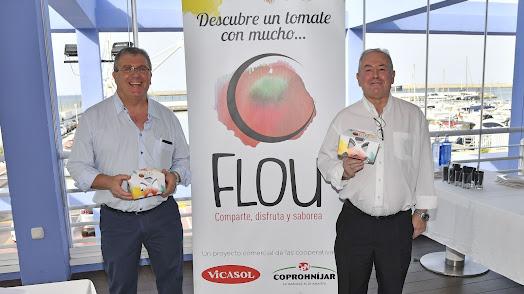 Presentación del Tomate Flou.