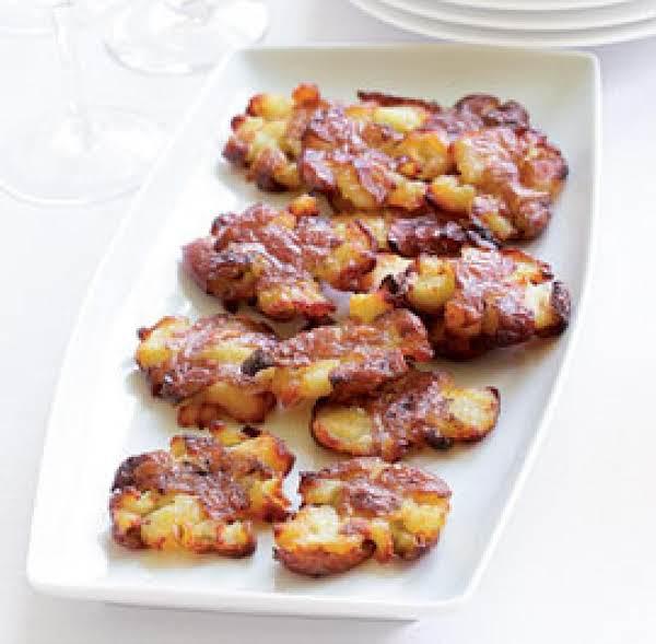 Crispy Flattened Potatoes