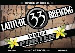Latitude 33 Vanilla Porter