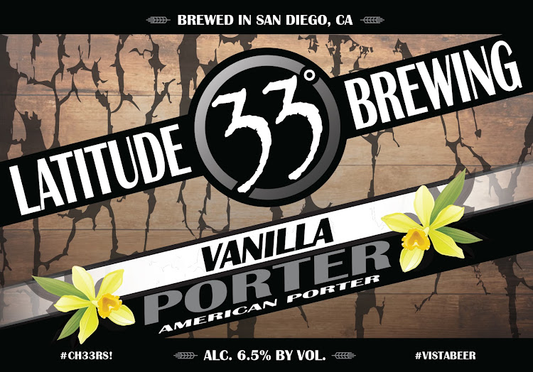 Logo of Latitude 33 Vanilla Porter