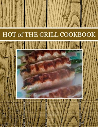 HOT of  THE  GRILL  COOKBOOK