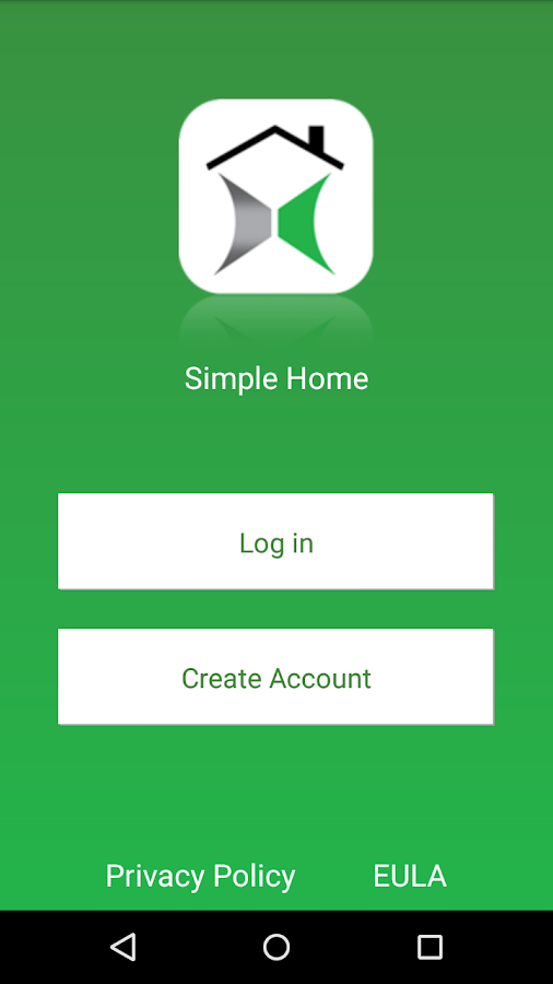 Simple Home- screenshot