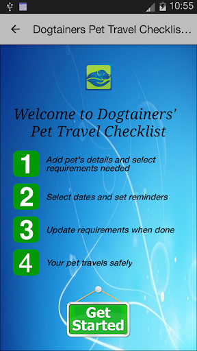 Pet Travel Checklist App