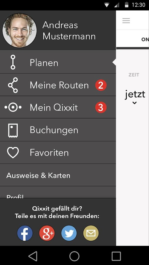 Qixxit- screenshot